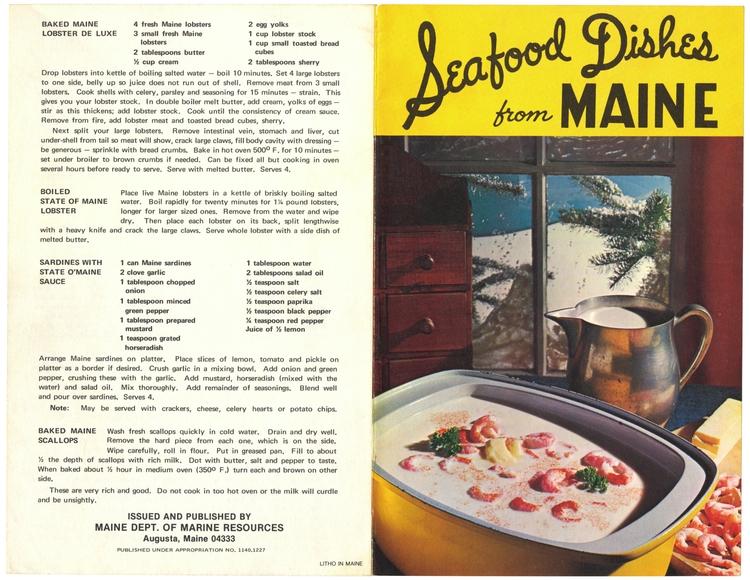 Baked Maine Lobster De Luxe, Bo - eudaemonius | ello