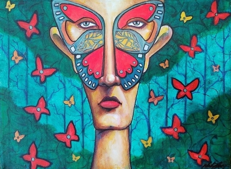 Butterfly Man - vodkabaconstudios | ello