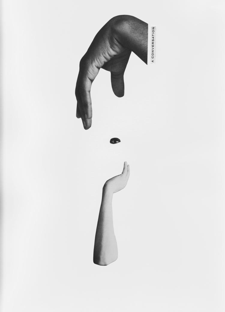 CONVERSATION - collage, papercollage - marianagv | ello