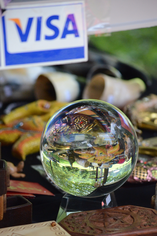 sell crystal ball [Pagan Daily  - moosedixon | ello