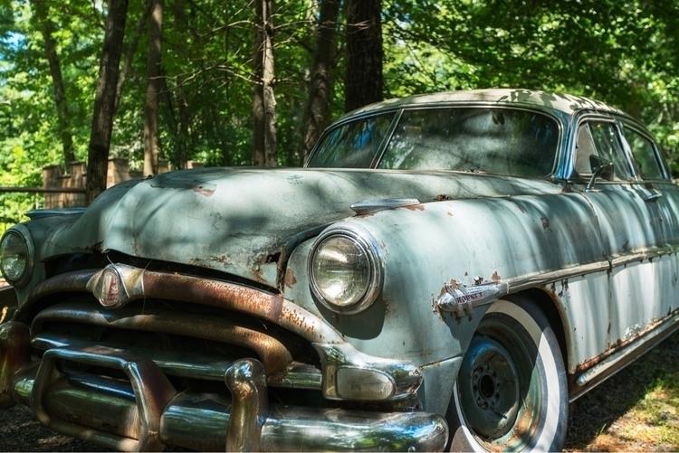 Hudson Hornet abandoned wild. A - rightcoastrobo | ello
