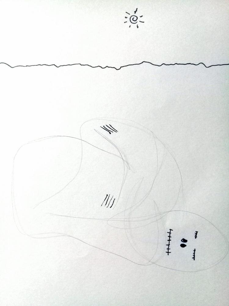 Mummy single hair Atacama, Chil - hansrchristensen | ello