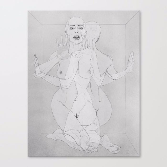 WOMAN BOX / Front BW version Il - itemlab_designstudio | ello
