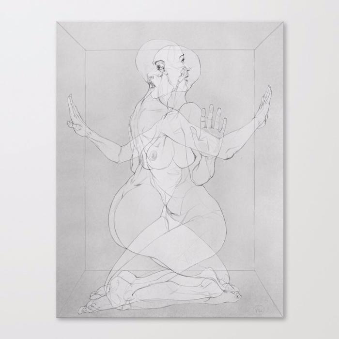 WOMAN BOX / Left Sketck version - itemlab_designstudio | ello