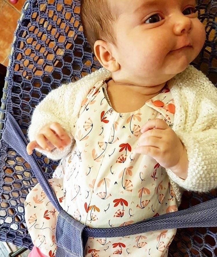 ROMPER | Gorgeous baby Eadie fl - littlemisslorraine | ello