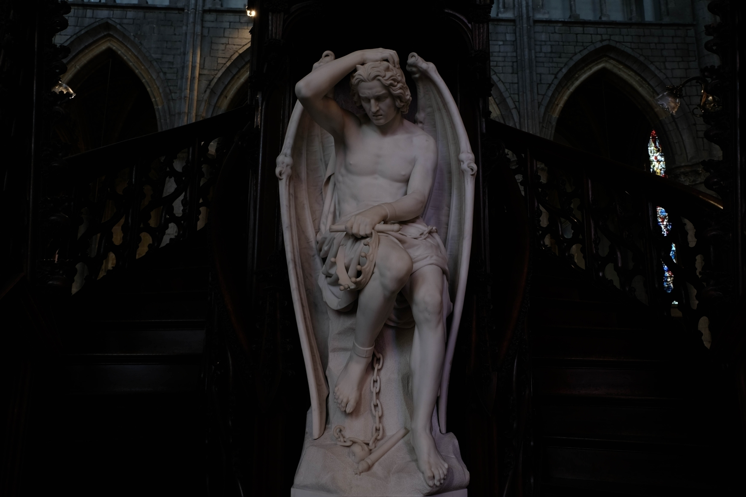 St. Cathedral Liège, Belgium, b - blackwyrt | ello