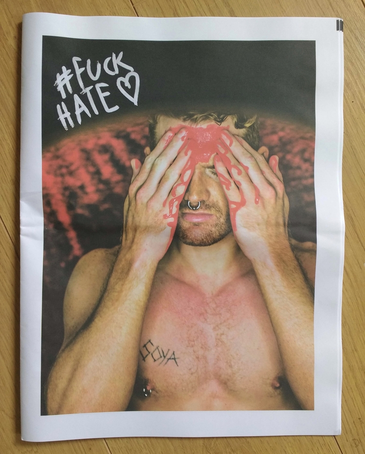 ***#FUCKHATE*** print copy Joha - johnhopper | ello