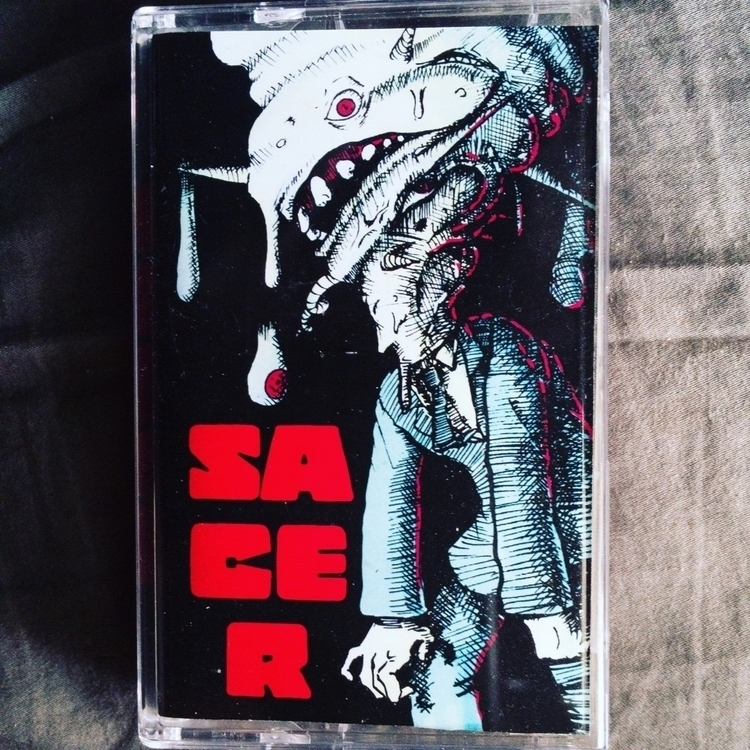 Audio Tape cover band SACER - art - jonzye | ello