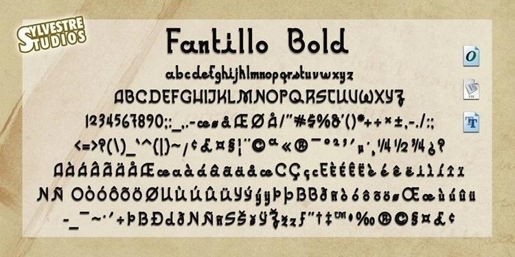 Fantillo font Family (Opentype - micksylvestre | ello