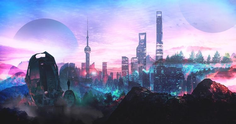 Io Alpha - akira, cowboybebop, futurism - dkaism | ello