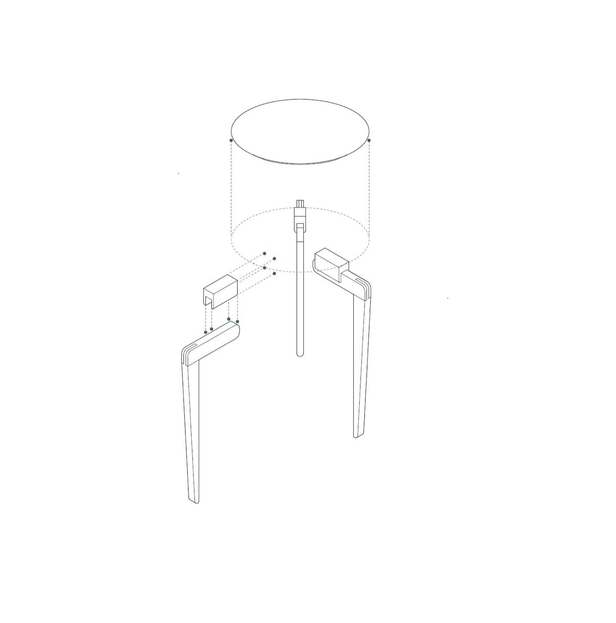 Technical drawing Heying Occasi - a-framedesign | ello