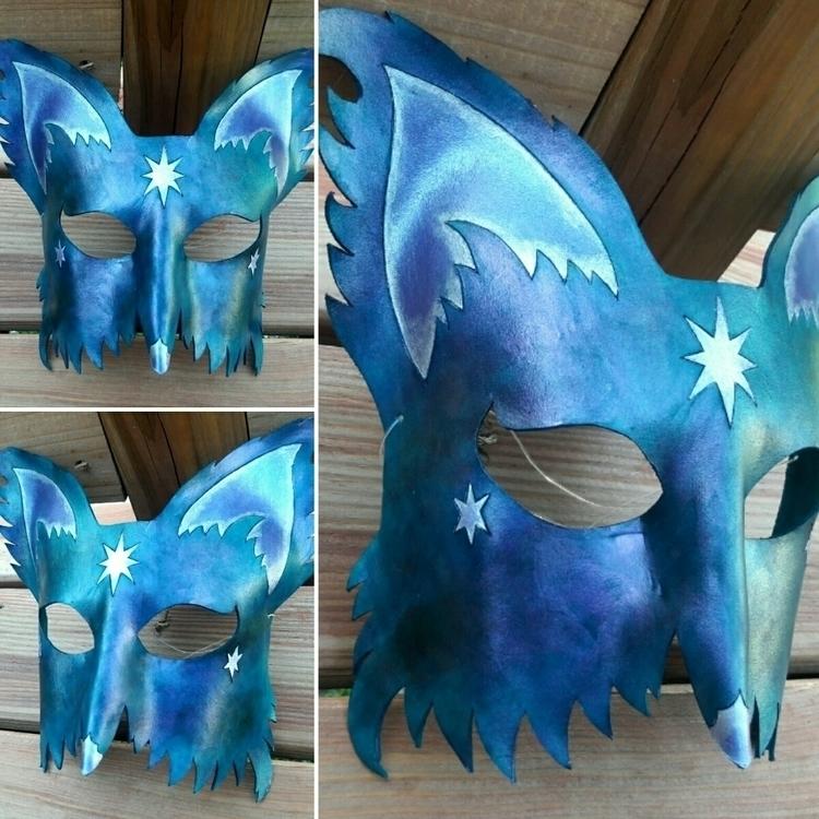 Leather Mask inspired wolf sing - spiralfae | ello
