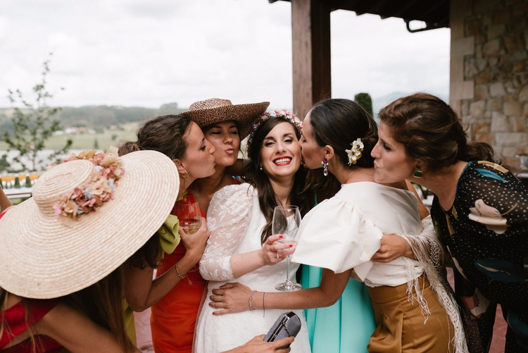 Besos mil para la novia, hoy cu - berezimoments | ello