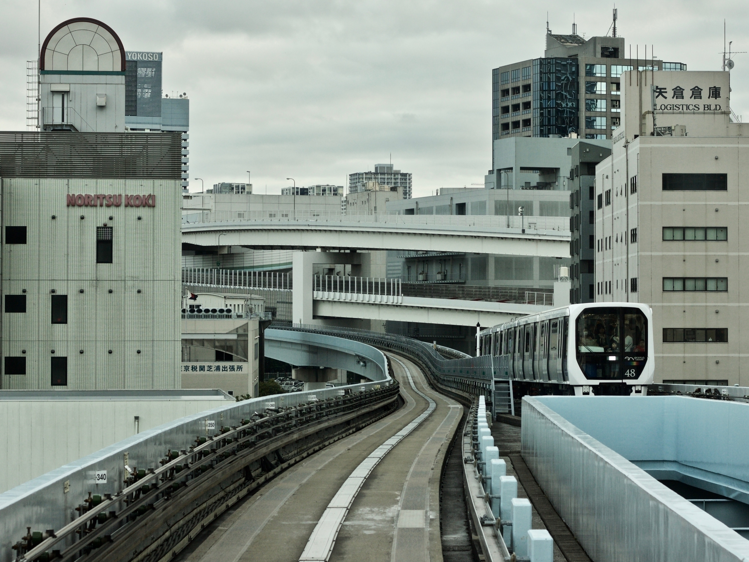 Takeshiba Tokio - yurikamome, toodaiba - hannesb | ello