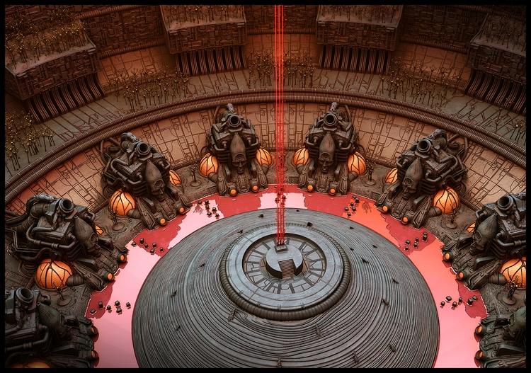 City Knowledge - Dome Interior  - rothwelljack | ello
