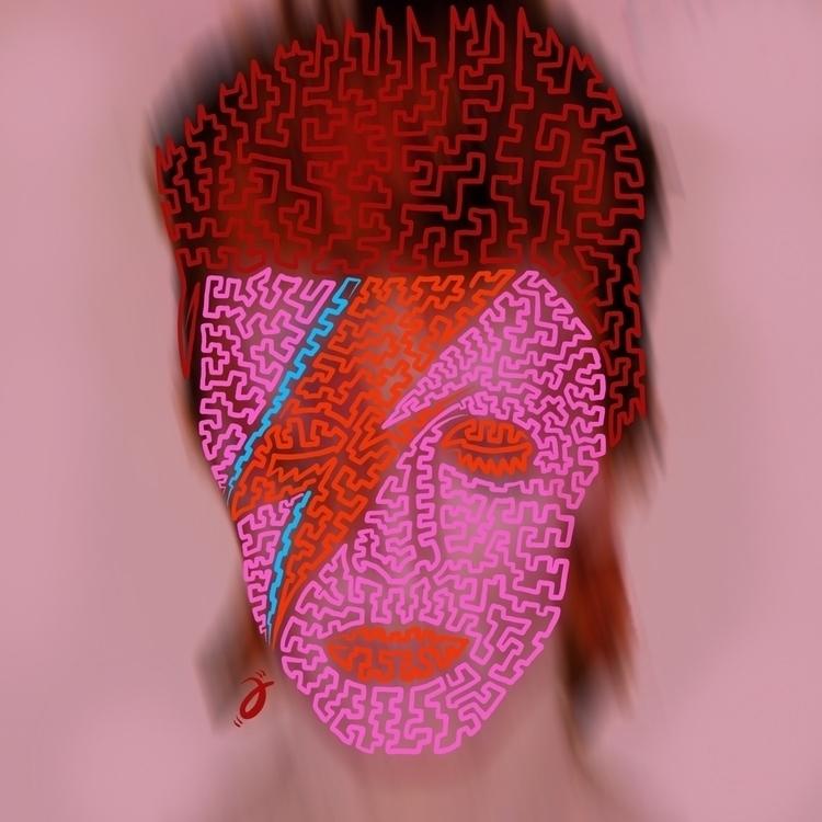 Bowie Furmie. Squiggle - illustration - furmie | ello
