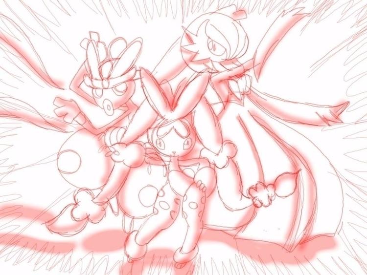 Team Charm Mega Evolution - Pokémon - brandon_omega-x | ello