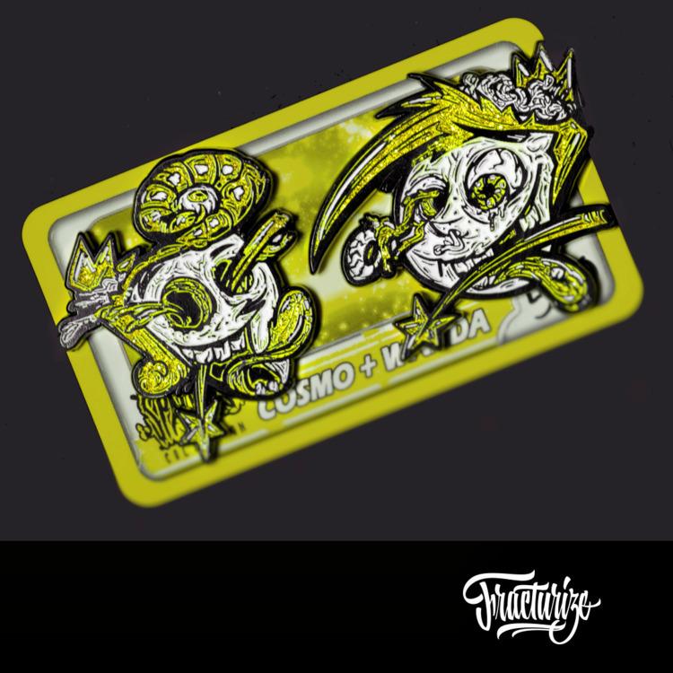 Custom Cosmo Wanda pin design  - fracturize | ello
