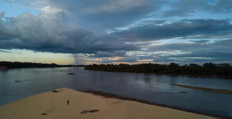 (Selous river, Tanzania - dronephotography - jhollaholla | ello