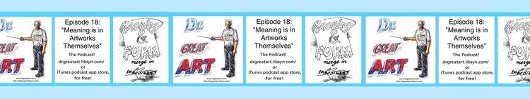 newest Dr Great Art podcast! Ep - markstaffbrandl55 | ello