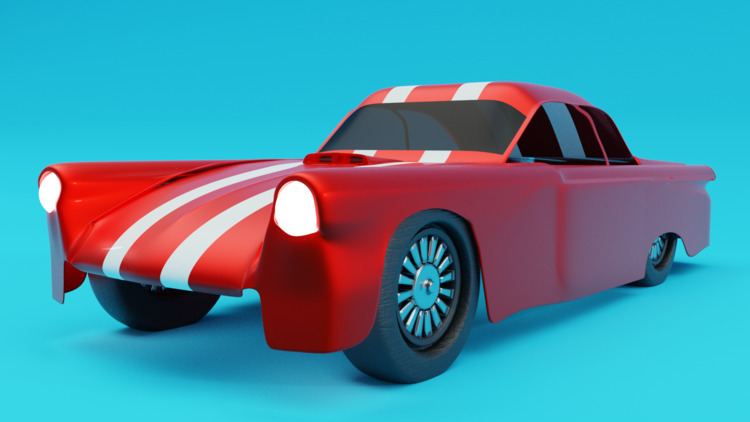 car, design, 3d, ello3d, art - solutuminvictus | ello
