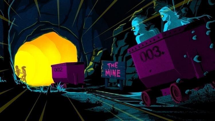 Time Zombieville. Digital - illustration - splendidhand | ello