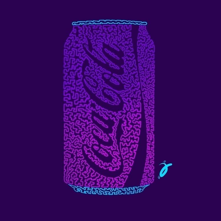 Neon Fizz. Squiggle Furmie - illustration - furmie | ello