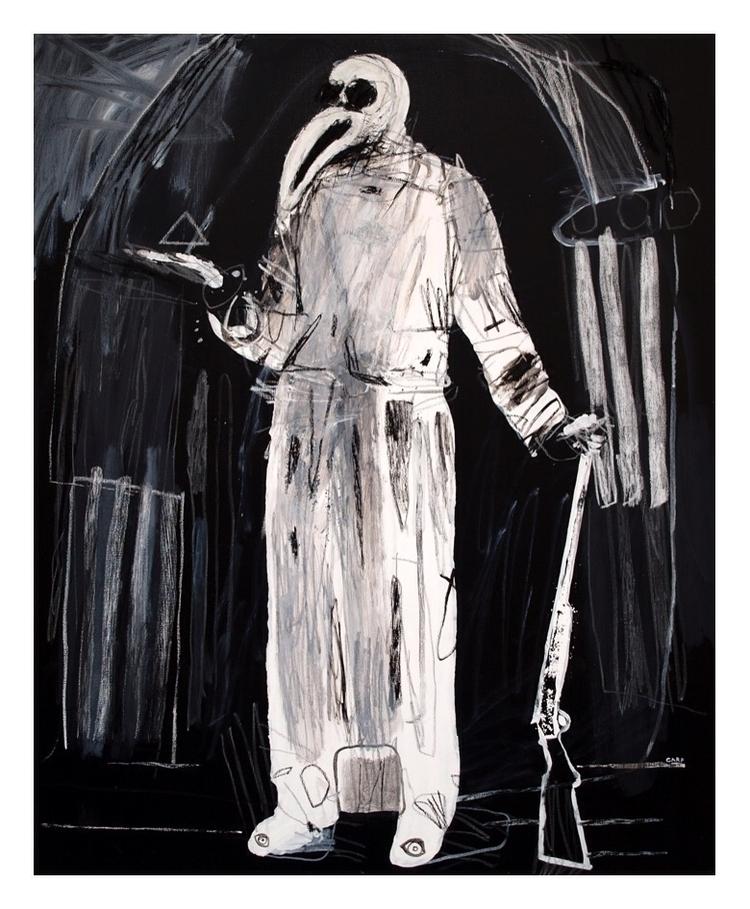 Plague doctor 3. 100x80cm, 2008 - carpmatthew | ello