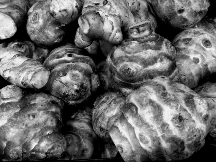Topinambours - photo, roots - dispel | ello