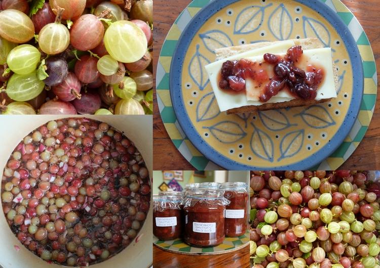 Making Gooseberry Chutney (adap - firehorsetextiles | ello