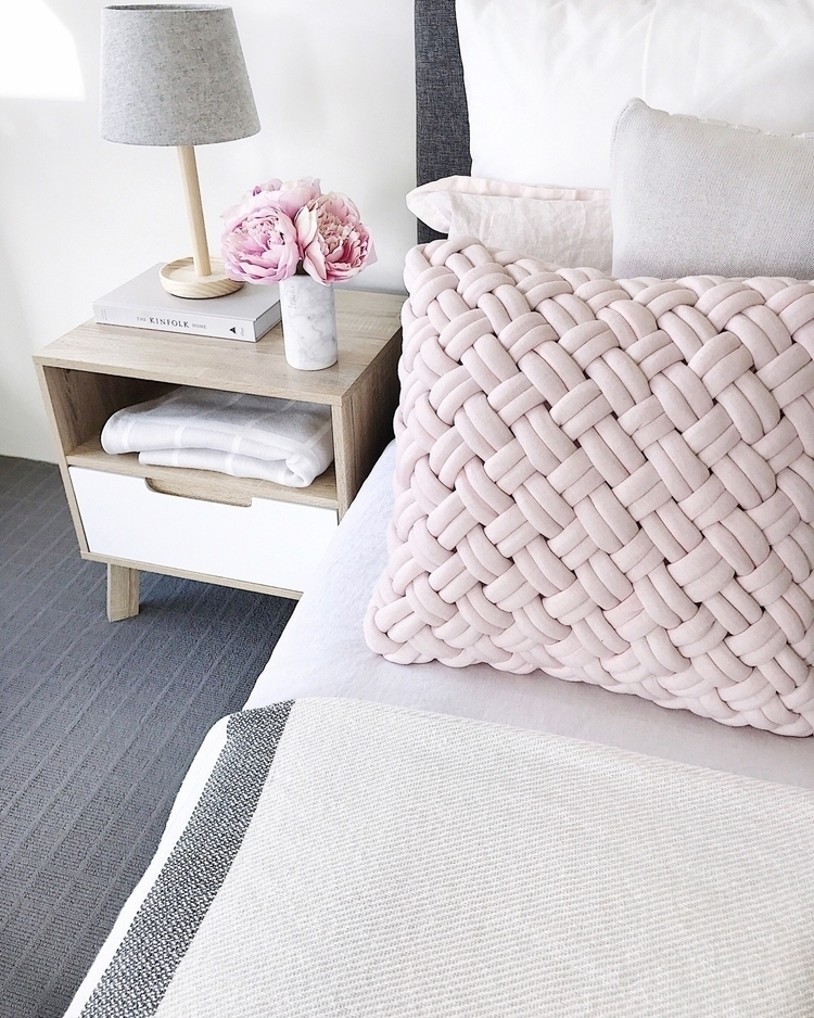 BLUSH BEDROOM  - interiordeco, homewares - megcaris_interiors | ello