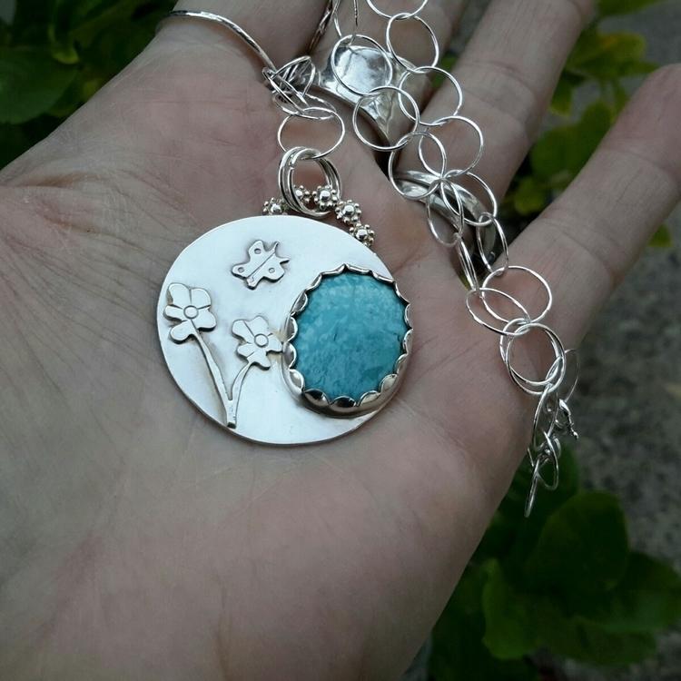 BLOOM - nature, turquoise, flowerjewelry - dangbravegirl | ello