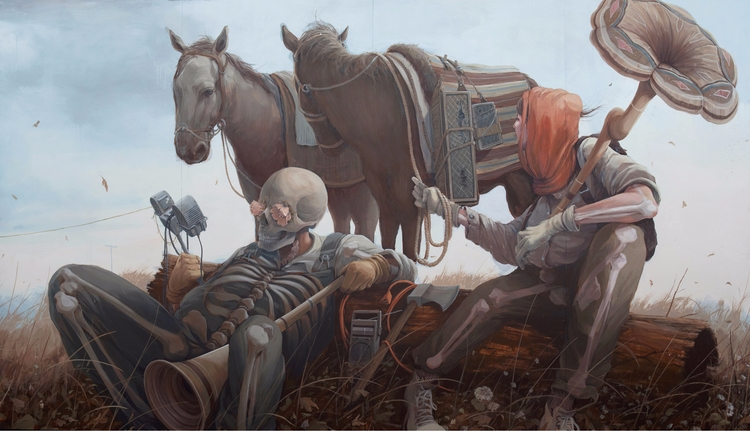 untitled triptych, 2017, 12x8 - heypatyeah | ello