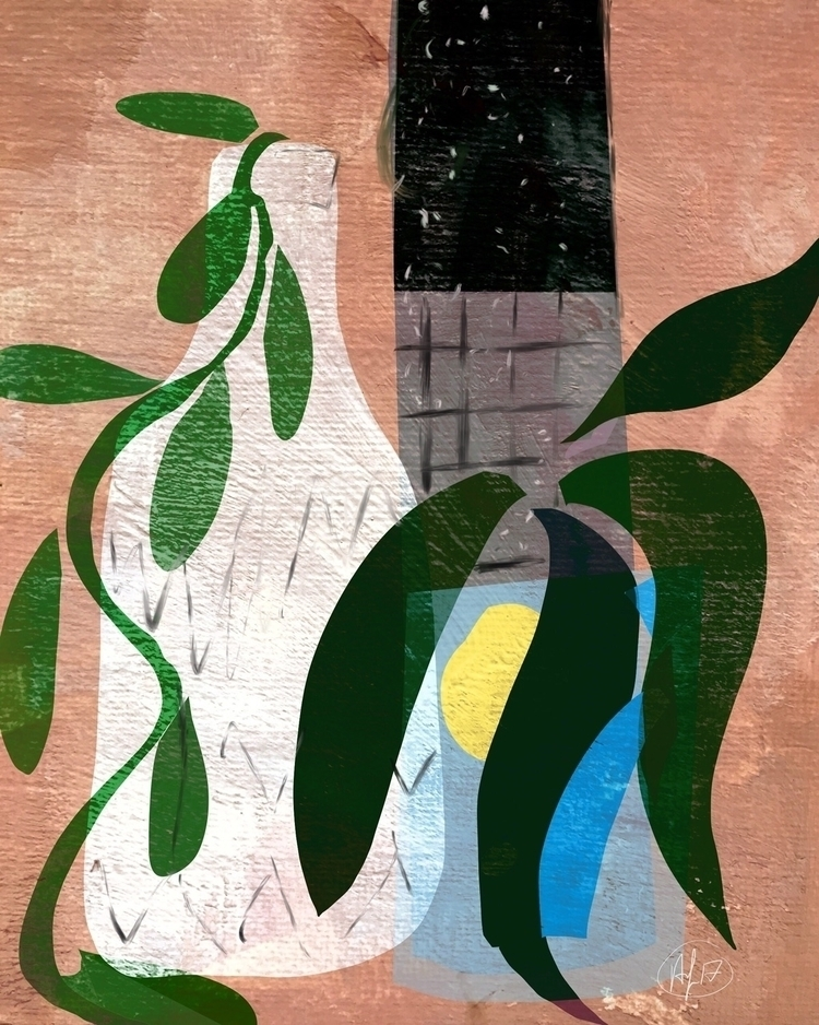 life Mixed media 2017 - art, painting - bitweirdthat | ello