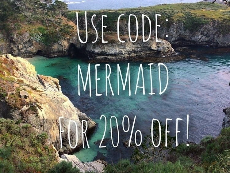 sale shop! code MERMAID 20% ord - seagrassmeadows | ello