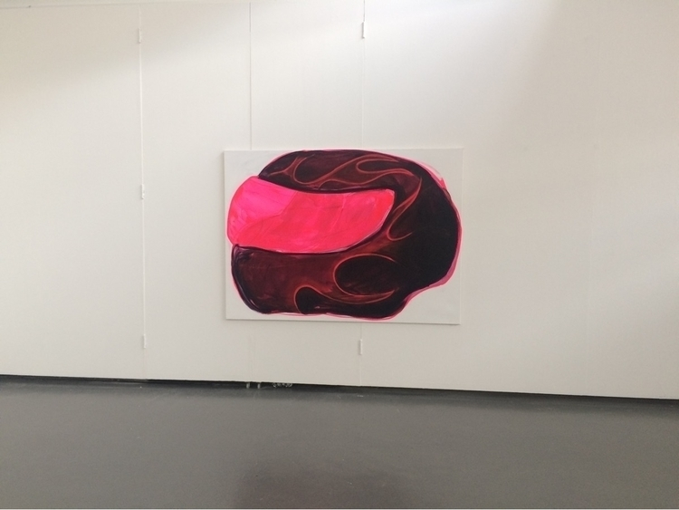 2017, acrylic spray paint cotto - julikageissler   ello