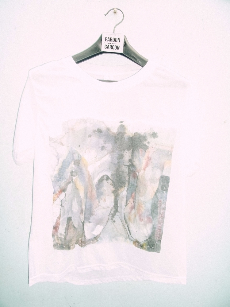 SHEER PATCHED ACID DYED FABRIC  - pardon-garcon | ello