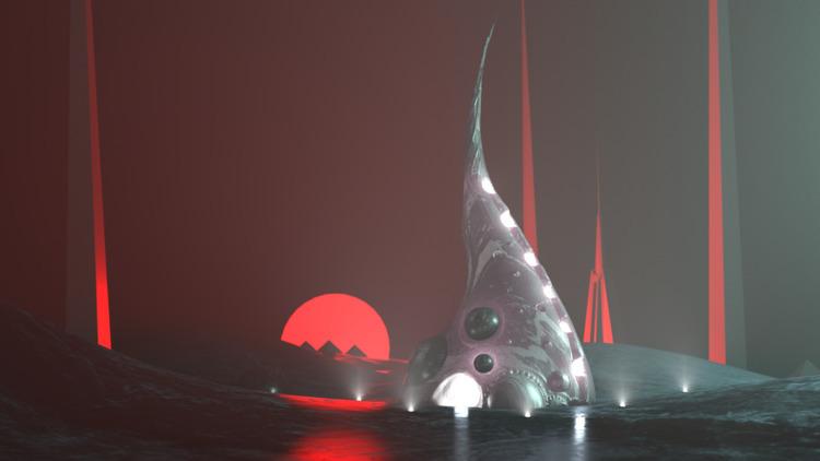 Harvest - futuristic, scifi, aliens - mographmartin | ello