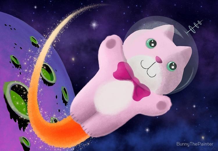 Captain Space Kitty 24Th Centur - littlebunnysunshine | ello