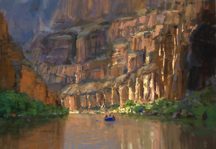 Colorado Blue Sketch, photo stu - mujkicharis | ello