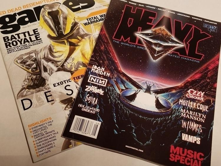 Games TM Heavy Metal mags - 8bitcentral | ello