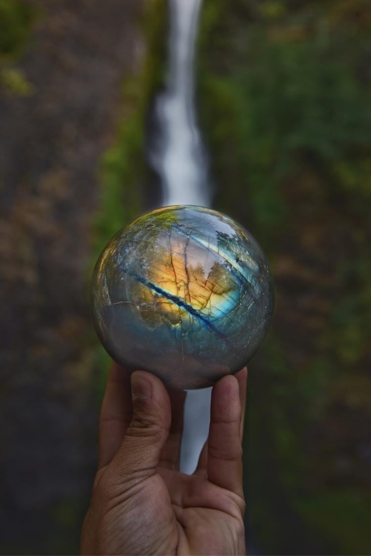 perfect Labradorite sphere sale - theeancients | ello