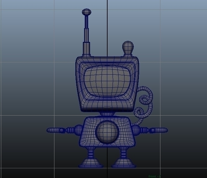 Digimo Model working robot - 3D - duhzoid | ello