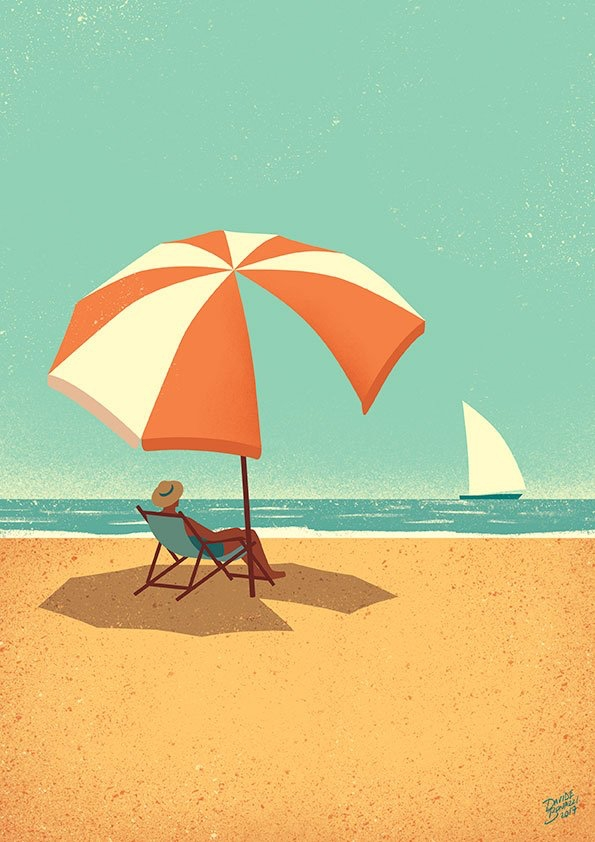 Summer Time :copyright:Davide B - salzmanart | ello