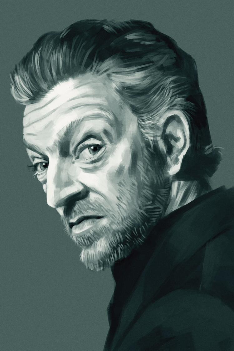 Vincent Cassel - digitalpainting - mrbraintree | ello