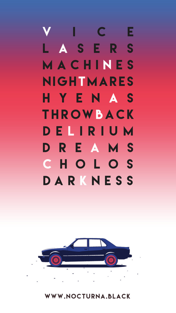 Vantablack poster designed Dieg - discoego | ello