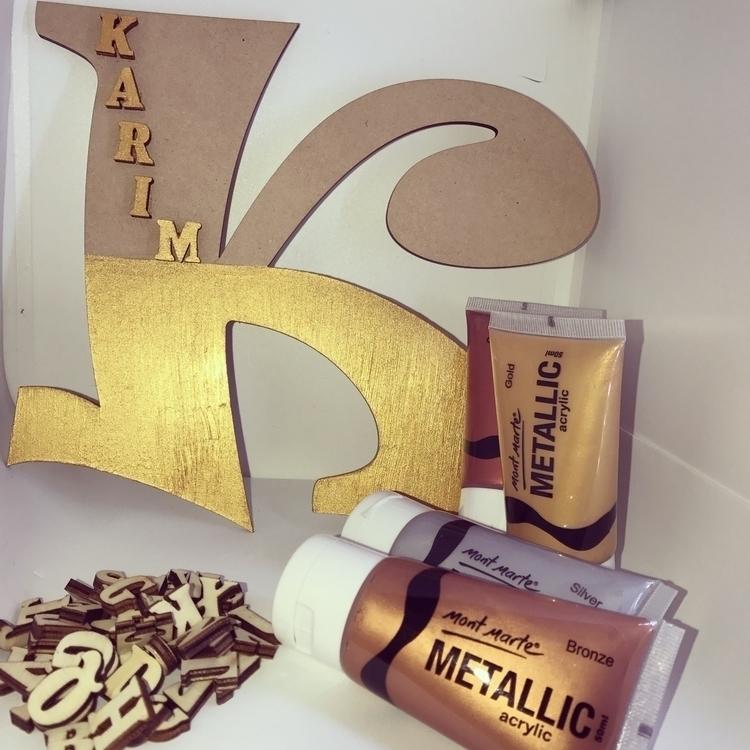 !! Wooden letters personalised  - littlekokobub   ello