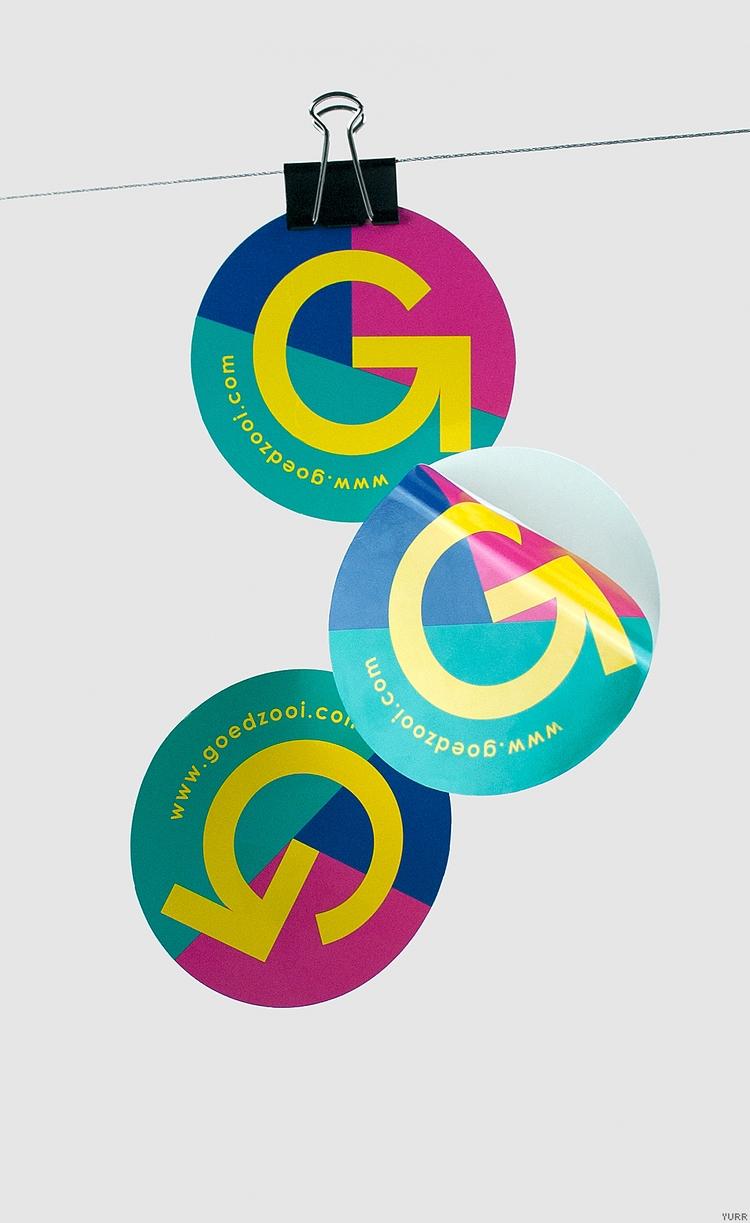Goedzooi ~ Sticker - twisted, logo - studioyurr   ello