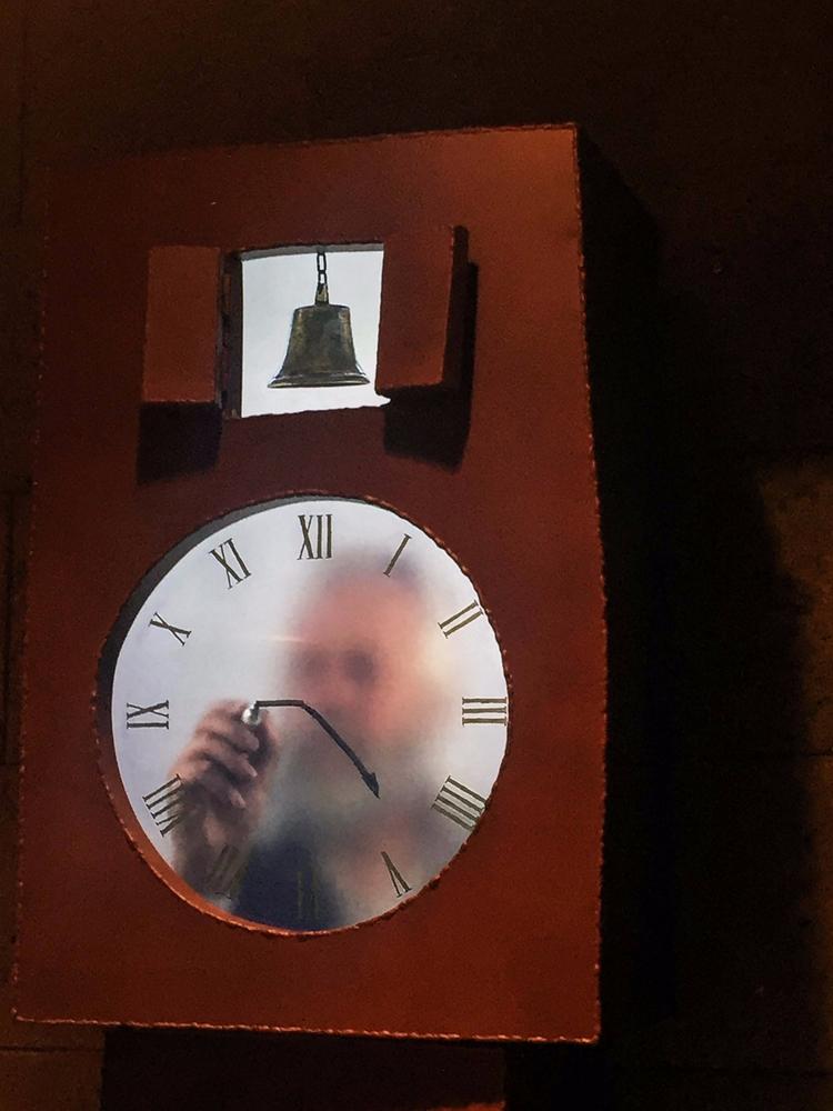 Grandfather Clock - NGV, MaartenBAAS - sacrecour | ello