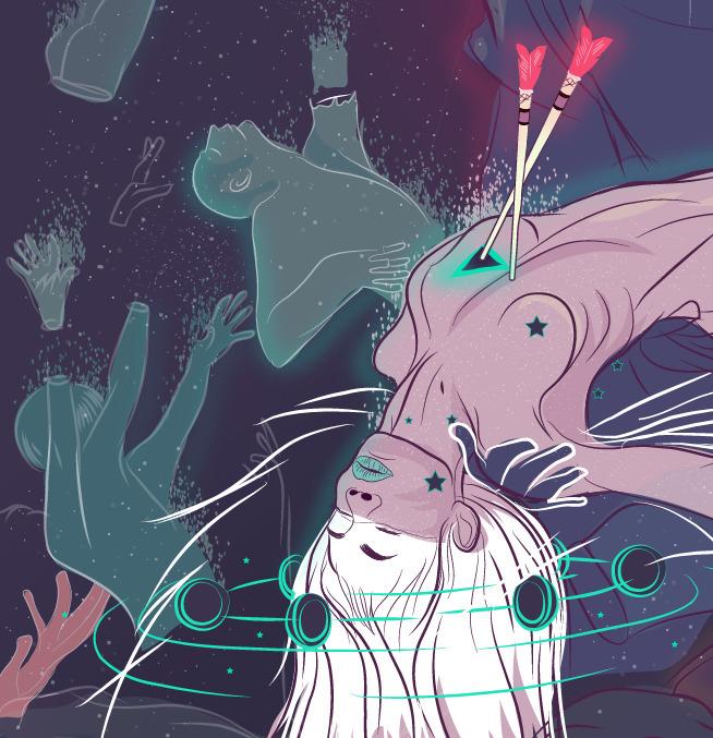 stars stuff - workInProgress, illustration - heyharold | ello